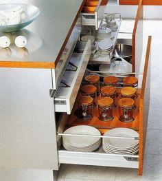 35 Kitchen Drawer Organizing Ideas - DIY Organized Living *it all comes down to have a home for everything you own!