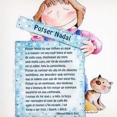 Poema 'Potser Nadal' i il·lustració