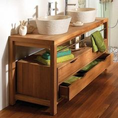 meuble sous vasque petite sdb am nager dans chambre. Black Bedroom Furniture Sets. Home Design Ideas