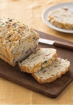 Buttermilk Cheddar-Bacon Bread — Give your family the bed-and-breakfast treatment by making this recipe—from scratch! It's easier than you think, and every bit as tasty.