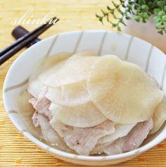 大根消費☆簡単うま!スライス大根と豚バラのミルフィーユ。また感想とか。 |冬のひいらぎ 秋のかえで*shinkuのレシピ&ライフ