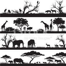 Image result for africa silhouettes