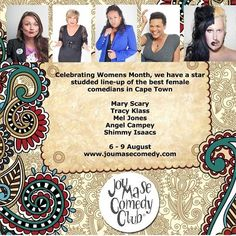 Jou Ma Se Comedy Club: Women's Day - Comedy@V&A Waterfront  - Events - Cape Town Live