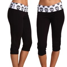 SO MAD that I missed the Groupon deal for these >:(  [pinning to remind me to keep looking for em: Gabriella Rocha Arianna Skull Pant]