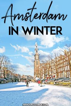 Considering visiting Amsterdam in winter? Your complete guide to the best things to do in Amsterdam during winter and what to expect when visiting Amsterdam in winter in terms of seasonal events! Utrecht, Rotterdam, Amsterdam Travel Guide, Europe Travel Guide, Amsterdam Itinerary, New Travel, Winter Travel, Winter Europe, Disney Travel