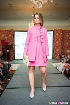 @Shoshanna Showroom rockin' the runway @ Toast to Fashion!