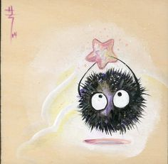 miyazaki soot sprite - Google Search