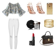 """""""Untitled #42"""" by rebekahdrhodes03 ❤ liked on Polyvore featuring beauty, River Island, Madden Girl, Chanel and NARS Cosmetics"""