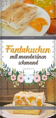 Fantakuchen mit Mandarinen-Schmand Fantasy cake with tangerine sour cream Homemade Frappuccino, Frappuccino Recipe, Berry Smoothie Recipe, Easy Smoothie Recipes, Coconut Milk Smoothie, Fantasy Cake, Coconut Recipes, Pumpkin Spice Cupcakes, Food Cakes