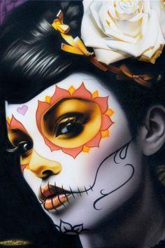 Black Market Art Company | Victoria Art Print | Daniel Esparza Artwork | The Atomic Boutique.com