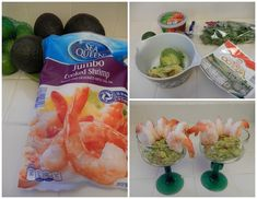 Healthy Mexican Recipes Shrimp and Guacamole Cocktail Shellfish Recipes, Shrimp Recipes, Diet Recipes, Healthy Mexican Recipes, Healthy Food, Aldi Shopping, Protein Lunch, Healthiest Seafood, Bariatric Recipes