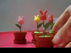 ▶ Flores de pasta francesa - YouTube