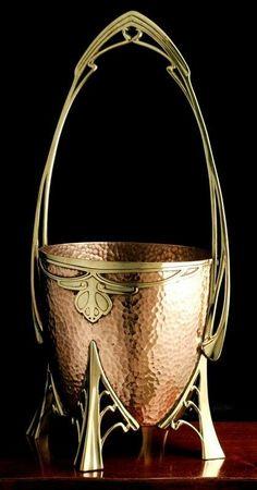 Art Nouveau - Seau à Champagne - Allemagne - Carl Deffner