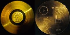 """116 Images of the Voyager Golden Record – a Message for Extraterrestrial Life // """"The Voyager Golden Records are phonograph records which were included aboard both Voyager spacecraft, which were launched in 1977. They contain sounds and images selected to portray the diversity of life and culture on Earth, and are intended for any intelligent extraterrestrial life form, or for future humans, who may find them."""""""