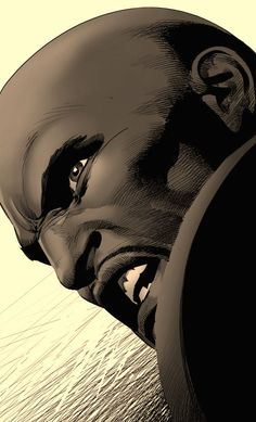 Luke Cage by Mike Deodato Jr.