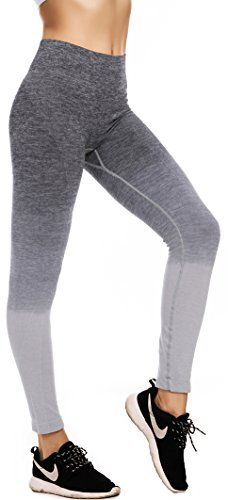 3945ae5ce401d4 Discounted RUNNING GIRL Ombre Yoga Pants Performance Active Stretch Running  Leggings(Grey,XL) #43237-2 #43237-2 #601951878054 #Apparel #Apparel #Grey  #Large ...