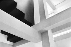 House VI, Frank Residence, Peter Eisenman, 1976 / Photo by Judith Turner