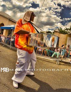 Rising Stars Steel Pan Orchestra. Photo credit Malek Bascombe St Croix US Virgin Islands Crucian Christmas Festival Adult Parade