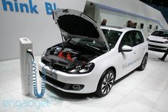 All-electric VW Golf Blue-e-emotion to be released in 2013