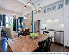 18 Wooden Kitchen Table and Chair Ideas