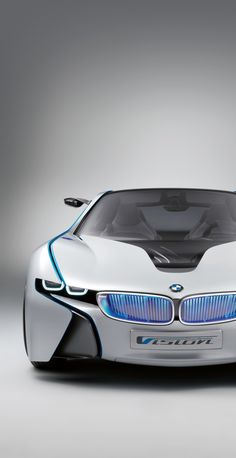 The BMW was unveiled at the Frankfurt Motor Show in 2013 and is a plug in hybrid sports car. The combines a turbo charged motor with a large electric engine and the car has some impressive performance figures. Bmw I8, M8 Bmw, Hot Cars, Sexy Cars, My Dream Car, Dream Cars, Future Electric Cars, Supercars, Porsche 918 Spyder