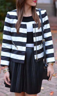 The Quarter Life Closet: Stripes on Stripes