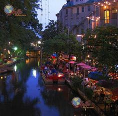 The River Walk, San Antonio,