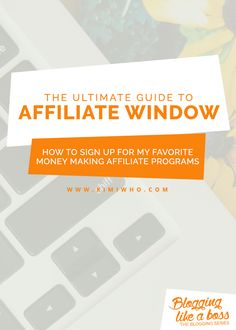 The Ultimate Guide to Affiliate Window where you will get walked through step by step (including helpful pictures).  Learn how to sign up, join affiliate programs, link products and review reports so you can start making money from your blog!