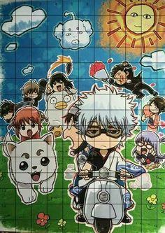 Gin, Anime, Cartoon Movies, Anime Music, Jeans, Animation, Anime Shows, Jin