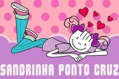 Sandrinha Ponto Cruz: Semaninha de verão Cross Stitch Designs, Cross Stitch Patterns, Hello Kitty, Winne The Pooh, Looney Tunes, Disney Coloring Pages, Perler Patterns, Eeyore, Cross Stitching