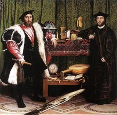 The Ambassadors by Hans Holbein
