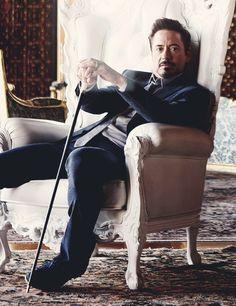 "Robert Downey Jr. for ""GQ"" Magazine"