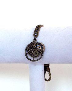 Handmade Steampunk Keychain OOAK by SophiesHatsandMore on Etsy