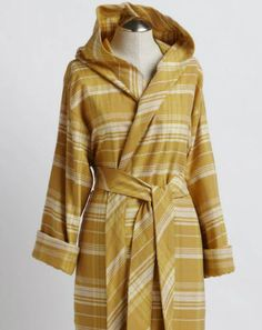 Women's Hooded Edinburgh Cloud Brushed Flannel Robe