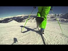 Alltracks Ski Training - Rollerblade Turn. Advanced Ski Coaching - YouTube