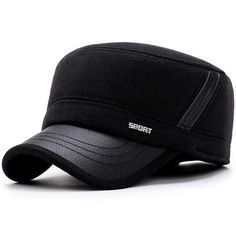Womens Fashion Winter Ear Flaps Army Sailor Captain Caps Dad Hat