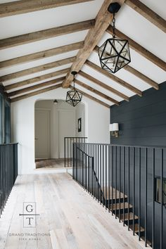 Simple Home Decor Dark shiplap accent wall. Home Decor Dark shiplap accent wall. Architecture Renovation, Architecture Design, Staircase Architecture, Drawing Architecture, Modern Staircase, Chinese Architecture, Architecture Office, Architecture Portfolio, Concept Architecture