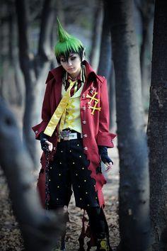 RIAN as Amaimon  of Ao no Exorcist