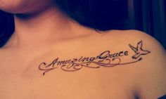 Amazing Grace. In memory of my beautiful grandma.. it was her favorite song. <3