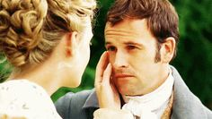 George Knightley, Emma | A Definitive Ranking Of Jane Austen's Male Hotties ---- Pros: Doesn't back down from a challenge. Blunt, in a hot way. Tolerant of Emma being a complete daddy's girl. Cons: Takes his sweet time to get to the point.