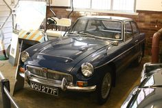 Originally SGY 776F, HRH Prince Charles's MGC is now in Sandringham Estate museum with a different reg