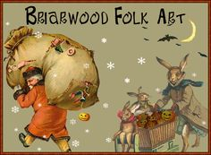 Briarwood Folk Art Remembering the Past