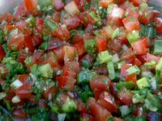 Chilean Salsa for BBQ: Pebre recipe from BBQ with Bobby Flay via Food Network