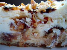 snickers cheesecake at plain chicken