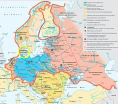 The genre of alternate history has produced its fair share of hypothetical maps. Here's one depicting what Europe might have looked like had the Greater German Reich triumphed in the 1940's.