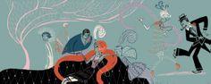 CHARLESTON by sigrid thaler Charleston, Digital Art, Anime, Anime Shows