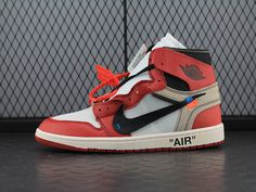 "OFF-WHITE x Air Jordan 1 High OG 10X""Chicago""AA3834-101; SIZE:EUR36-47.5; Check out from https://www.yeezymark.net/index.php/air-jordan/off-white-x-air-jordan-1-high-og-10x-chicago-aa3834-101.html"