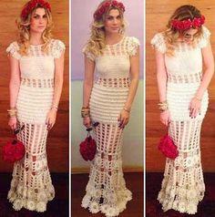 vestidos de croche longos 2
