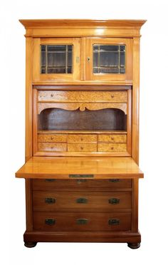 Sekretär - Kirschbaum - Jugendstil - Antiquitäten - Antik - Möbel