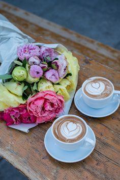 Flowers & Coffee - Gal Meets Glam